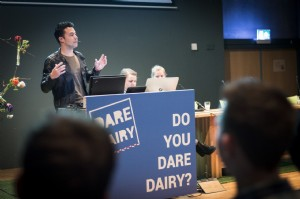 Dare Dairy orientation day drew lots of attention